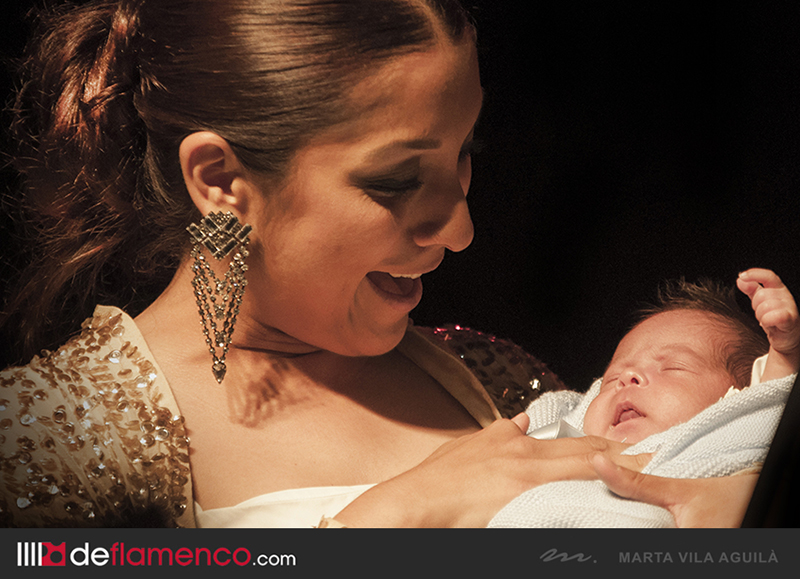 Triana Heredia & hijo