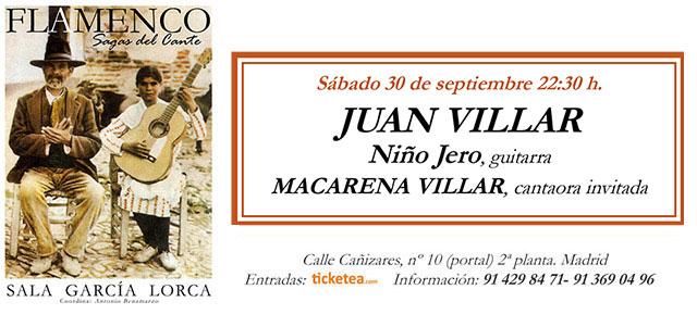 Juan Villar - Sala García Lorca