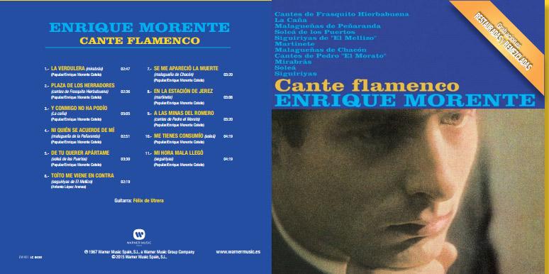 Enrique Morente - Cante Flamenco
