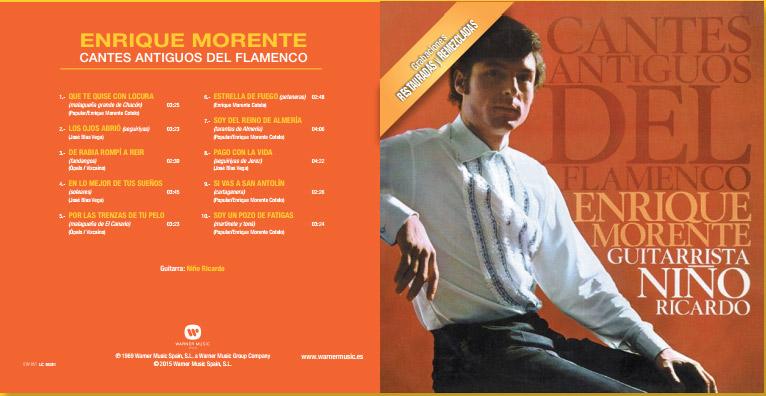 Enrique Morente Cantes Flamencos Antiguos