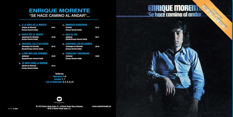 Enrique Morente - Se hace caminio al andar