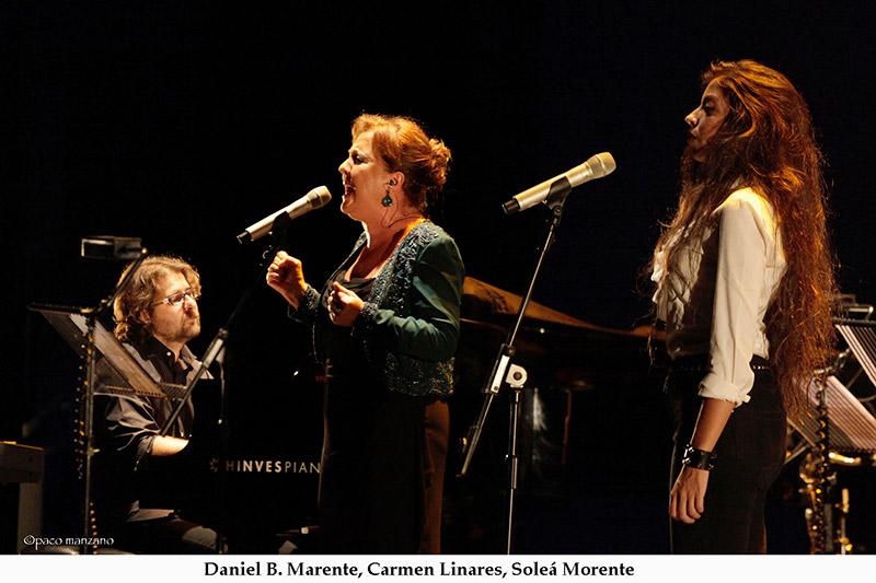Carmen Linares, Soleá Morente. foto Paco Manzano