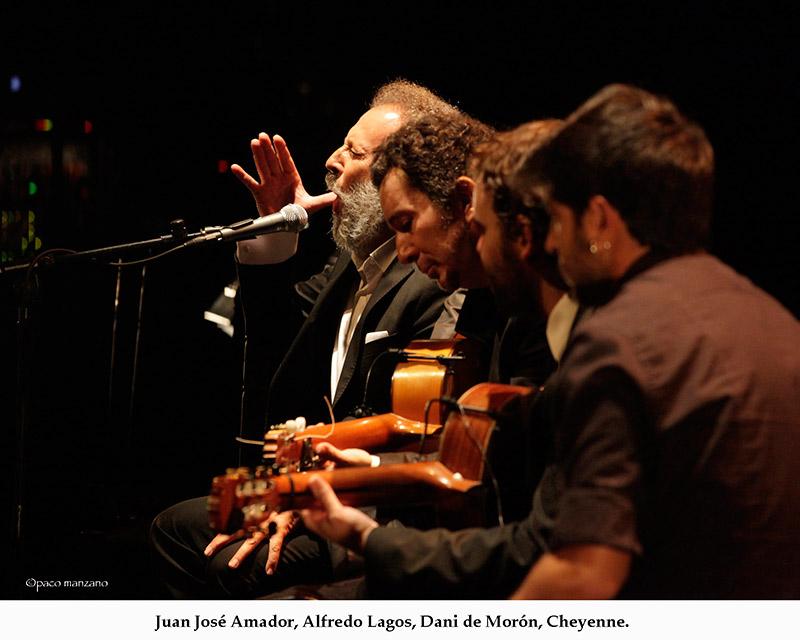 Juan José Amador, David Lagos, Dani de Morón, Cheyenne. Foto Paco Manzano