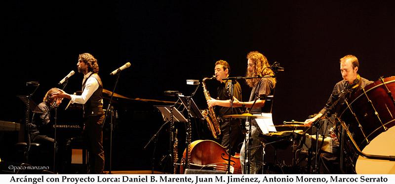 Arcángel con Proyecto Lorca