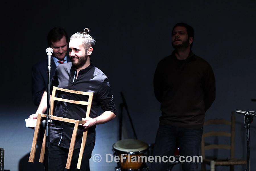 Alberto Romo, distinción flamenca Ángel Lacalle