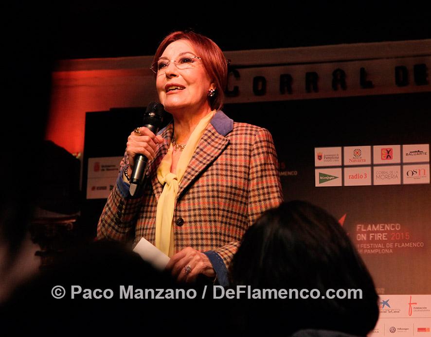 Flamenco on Fires 2015 - Blanca del Rey