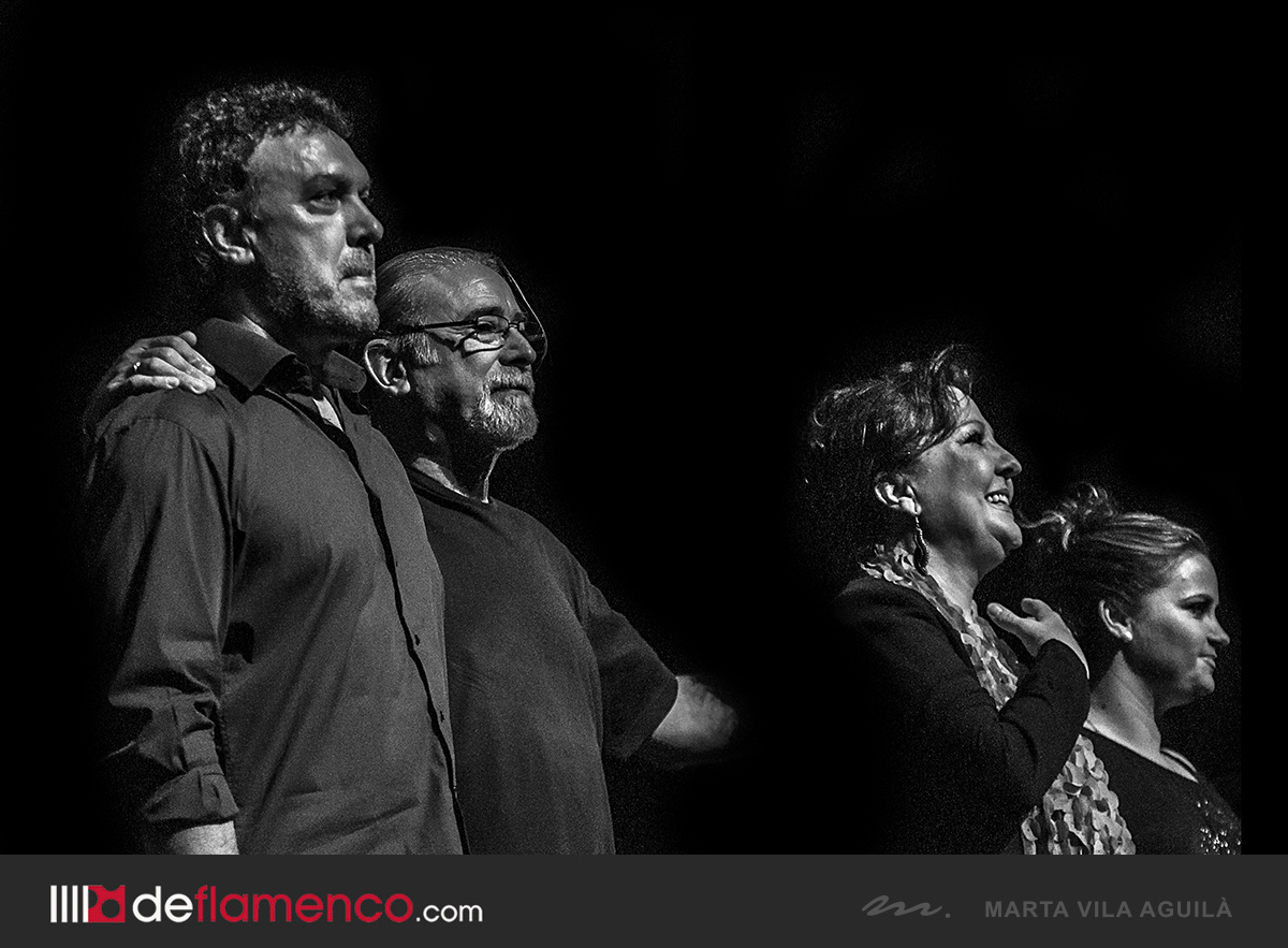 CU4TRO, Carmen Linares & Trio en Flamenco on Fire