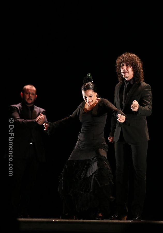 Adela Campallo con Jesús Corbacho y Jeromo Segura