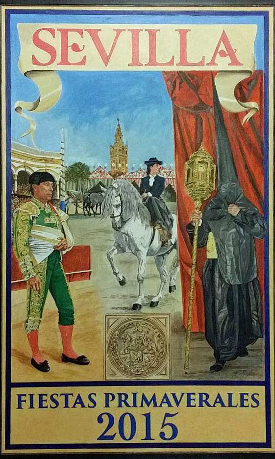 Cartel Oficial Feria de Sevilla 2015