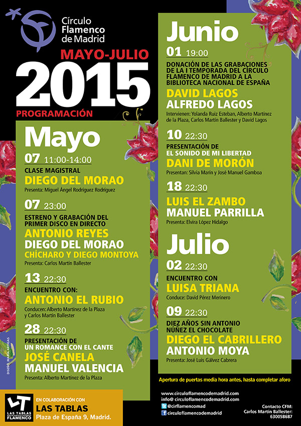 Circulo Flamenco Madrid 2015