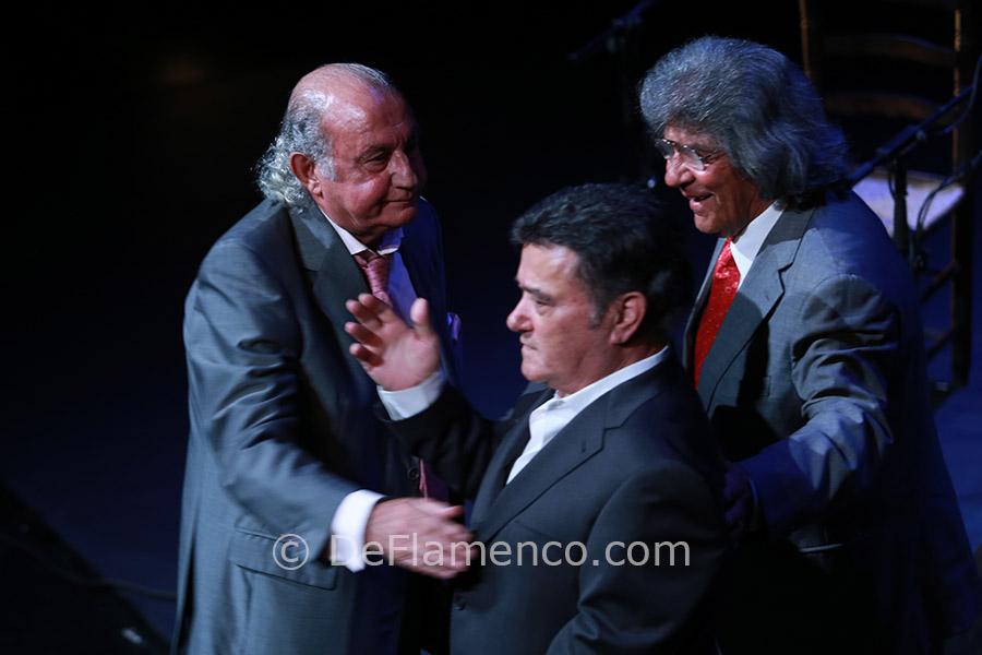 50 años de cante: Menese, Rancapino, Fernando de la Morena