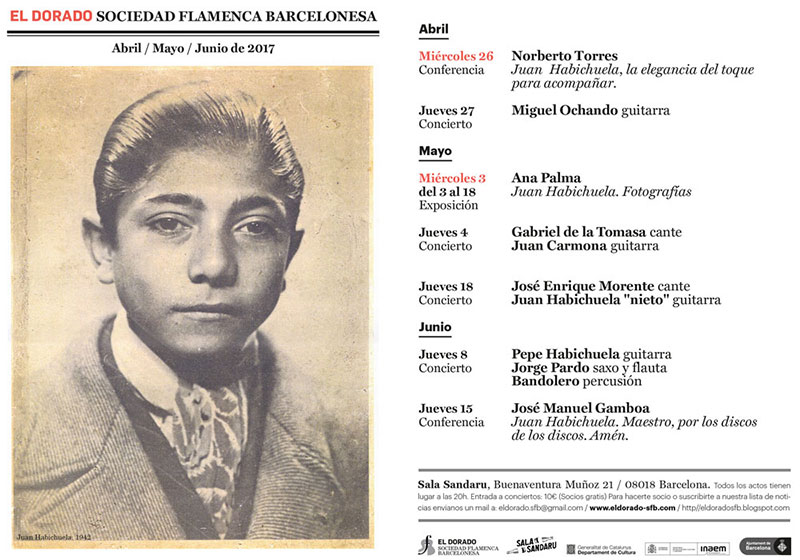 Dedicado a Juan Habichuela