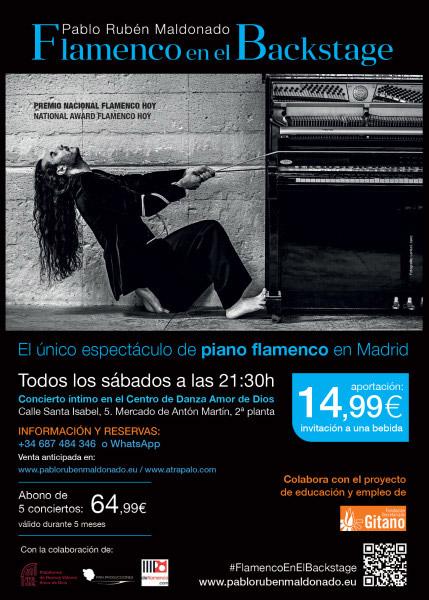 Flamenco en el BackStage - Pablo Rubén Maldonado