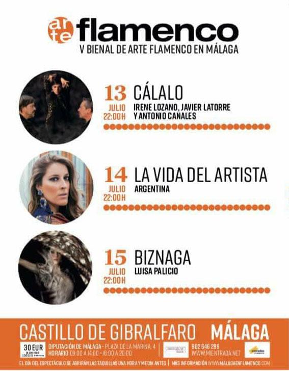 Flamenco en el Castillo de Gibralfaro