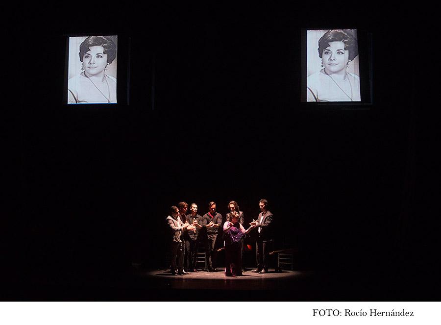 Homenaje a Mariana Cornejo. Cuadro de Encarna Anillo