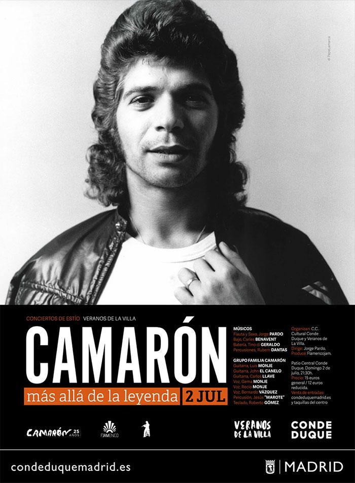 Homenaje a Camarón en Conde Duque