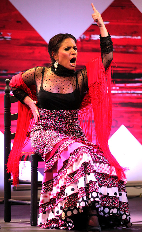 Rocío Bazán - Bienal de Flamenco