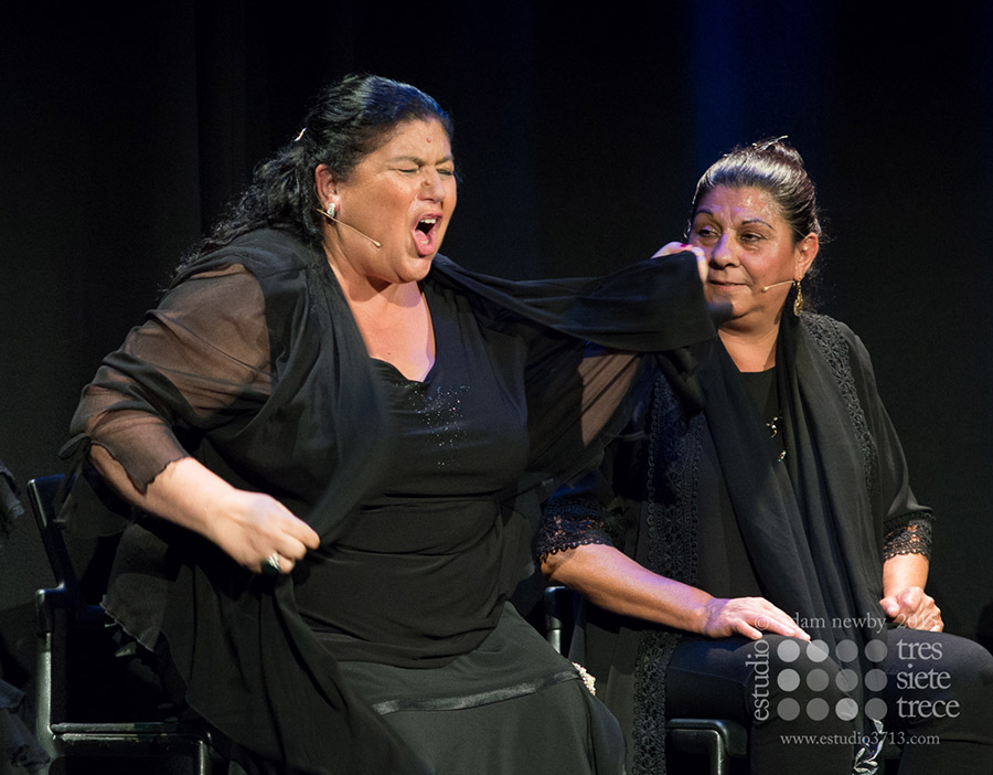 Inés Bacán & Dolores Agujetas