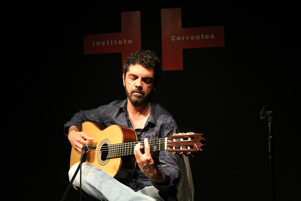 José Carlos Gómez - Photo: Instituto Cervantes