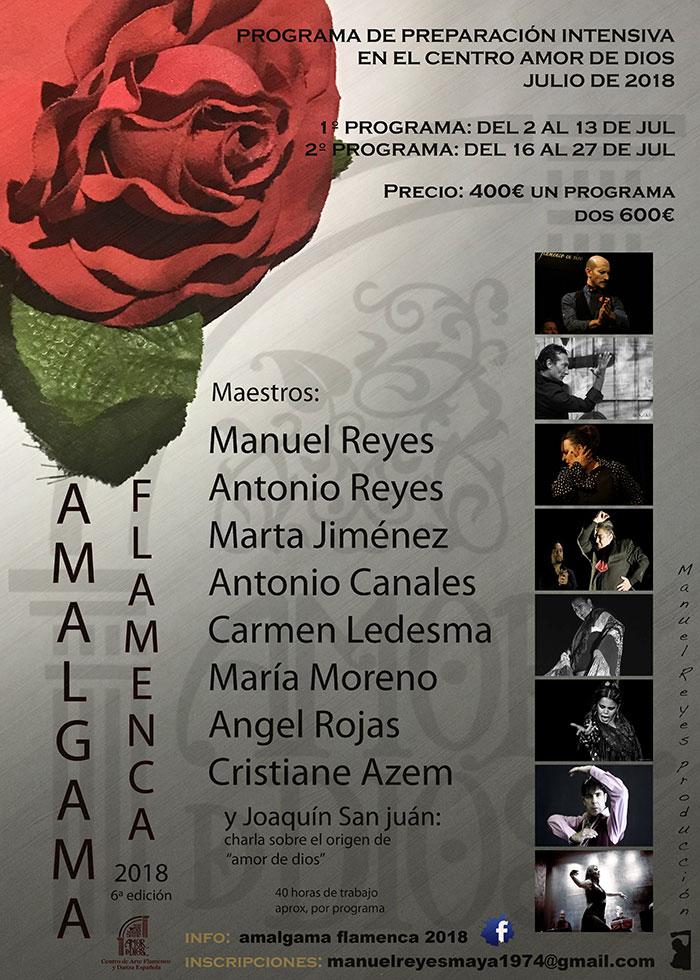Curso Amalgama Flamenca