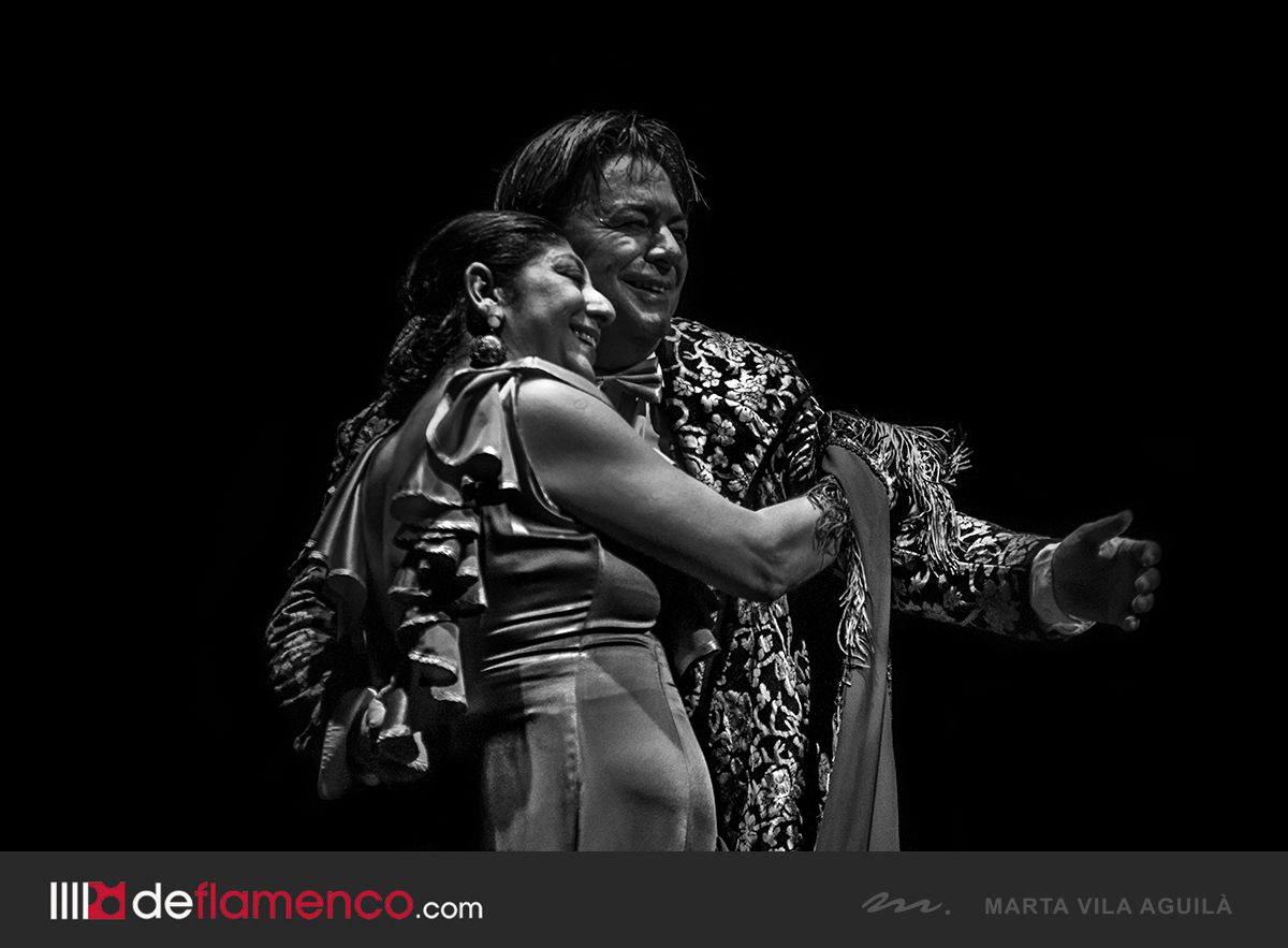Manuela Carrasco y Antonio Canales en Flamenco on Fire