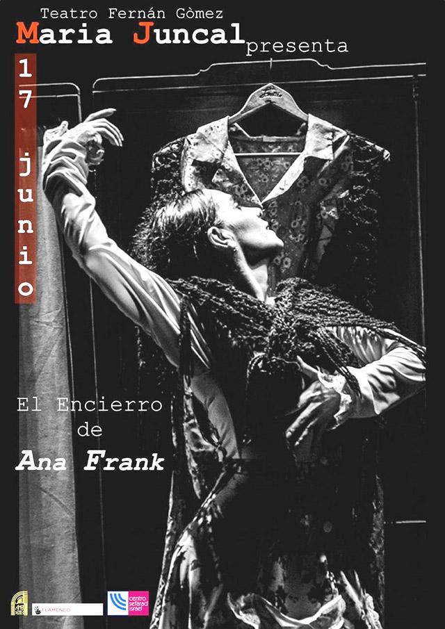 """María Juncal """"El encierro de Ana Frank"""""""
