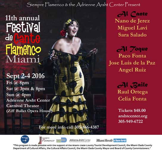 Miami Festival Flamenco
