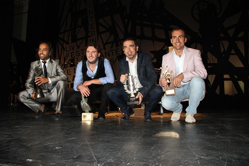 Ganadores - Foto: Festival Cante de las Minas