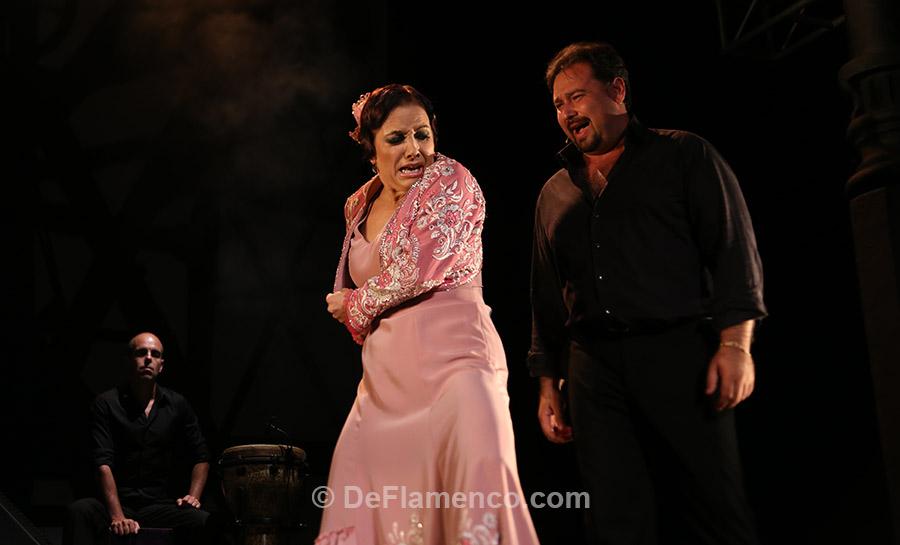 Eva Yerbabuena & José Valencia