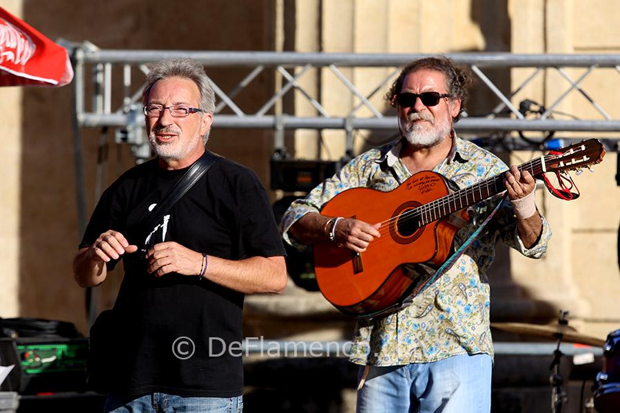 Dr Kelly & Diego Carrasco (pruebas de sonido)