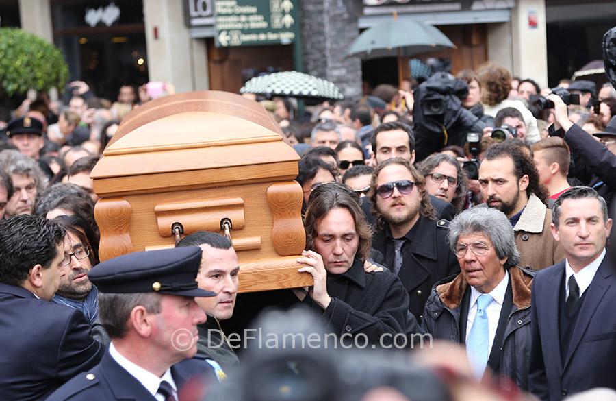 Paco de Lucía, entierro Algeciras