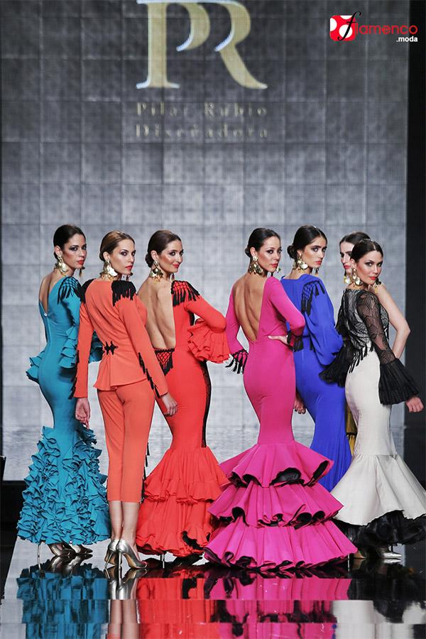 Moda Flamenca - Pilar Rubio