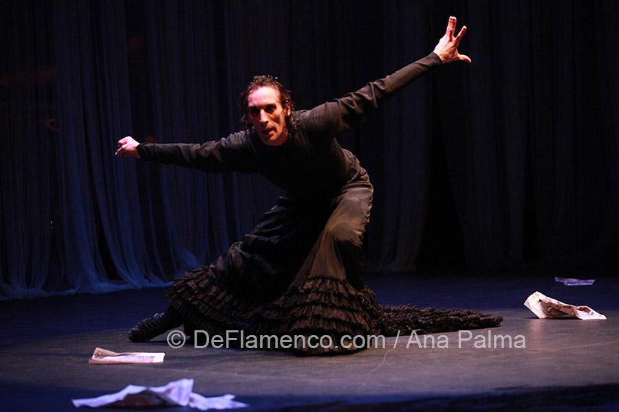 Ruben Olmo - La Tentacion de Poe - Festival de Jerez