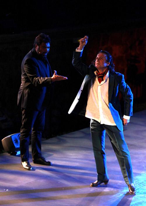 Javier Barón baile, Antonio Campos cante