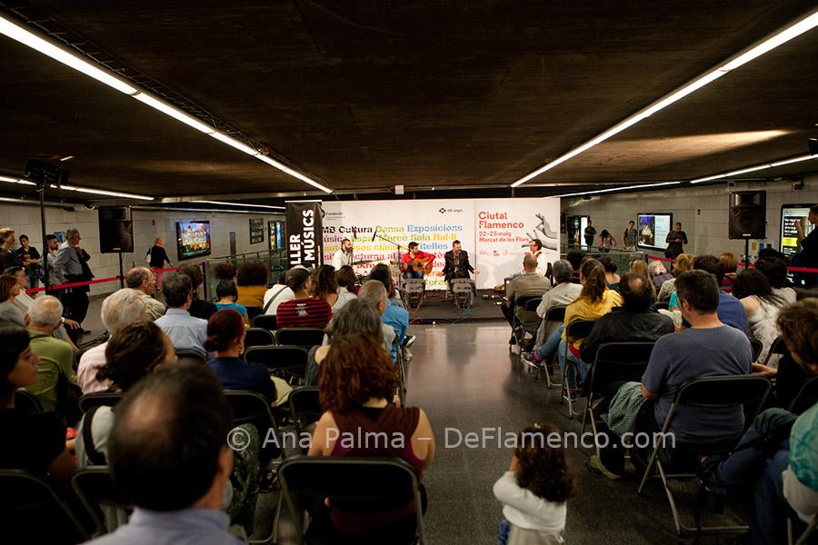 Actuaciones Metro Barcelona