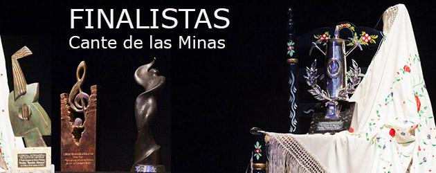 Finalistas Cante de las Minas 2014