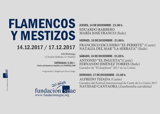 Flamencos y Mestizos