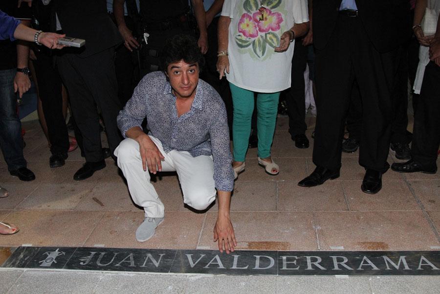 Valderrama destapa la Lámpara en la Avenida del Flamenco de La Unión. Foto: FICM