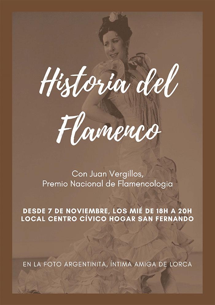 Clases «Historia del Flamenco» en Sevilla