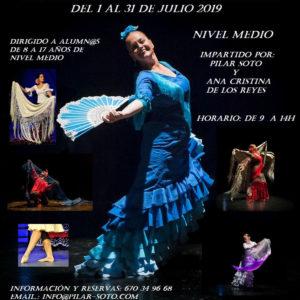 Intensivos de Flamenco Pilar Soto - Danza Española