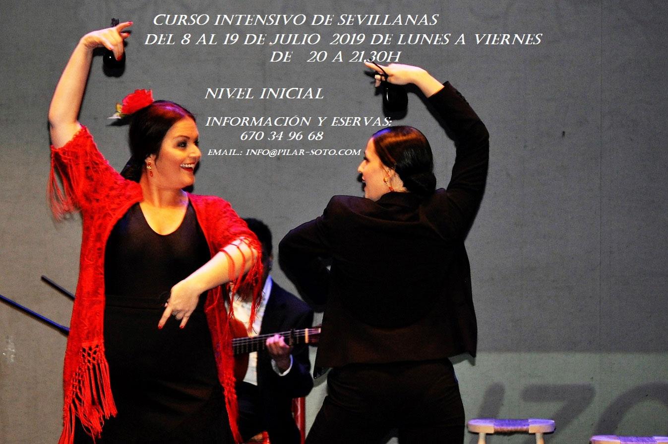 Intensivos de Flamenco Pilar Soto - Sevillanas