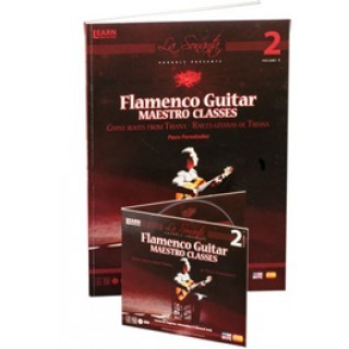 Flamenco guitar maestro classes Vol 2 (DVD+LIBRO) – Paco Fernández