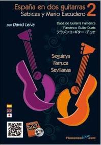 Dúos – España en dos guitarras (Volumen 2) – Sabicas y Mario Escudero – (DVD/Libro) – David Leiva