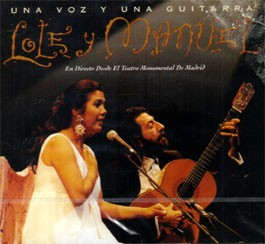 Una voz y una guitarra. En Directo  Lole y Manuel