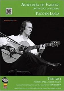 Antología de falsetas de Paco de Lucía. Tientos 1 Primera época (LIBRO+CD) – David Leiva
