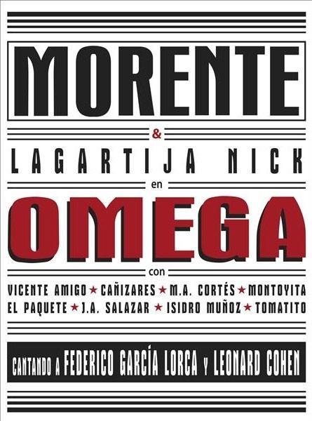 Omega (Ed. 20º Aniversario) Deluxe – 2 CD + DVD – Enrique Morente & Lagartija Nick
