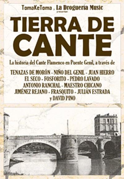 """Tierra de cante """"Documental"""" sobre Puente Genil(DVD) – VV.AA."""