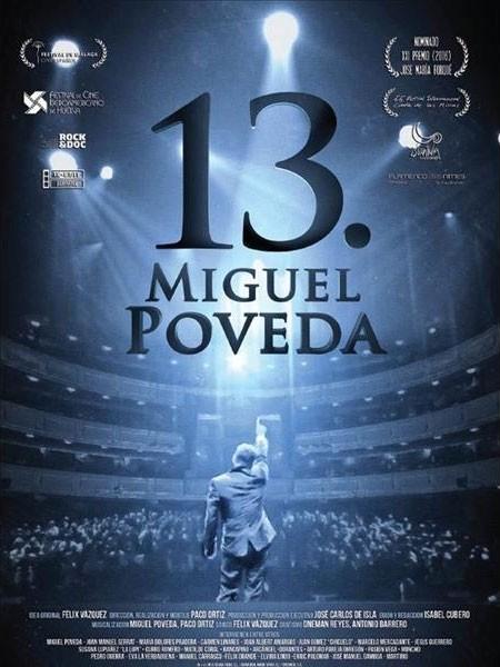 """""""13"""" – Documental de Miguel Poveda (DVD+CD) – Dir: Paco Ortíz"""