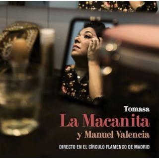 Directo en el Circulo Flamenco de Madrid (CD+DVD) – Tomasa La Macanita & Manuel Valencia