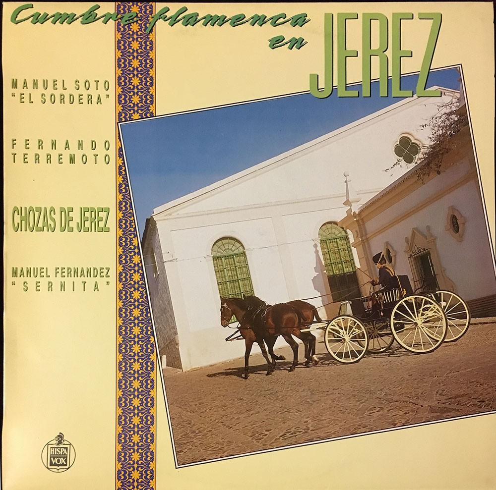 Cumbre Flamenca en Jerez (vinilo) – VV.AA.
